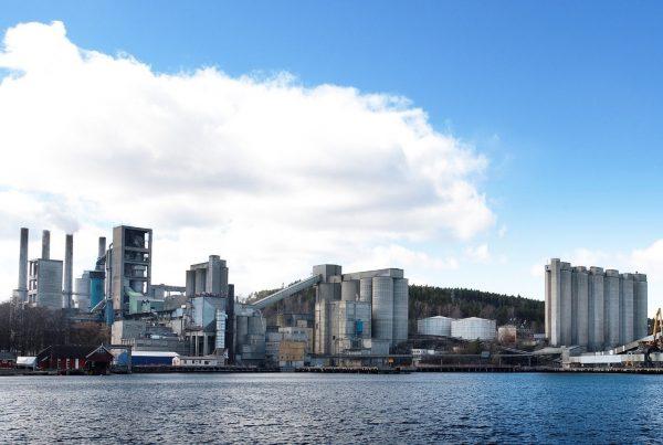 carbon capture and storage project at Norcem cement plant